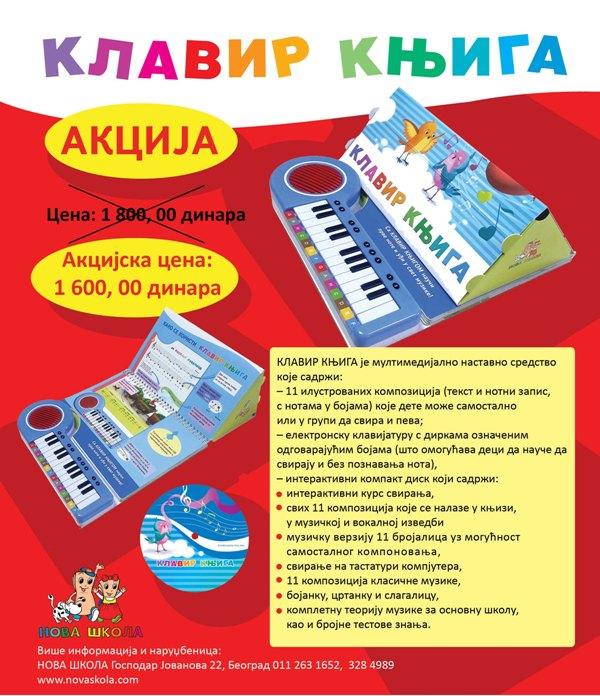 klavir knjiga