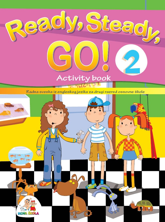 READY, STEADY, GO! Activity book 2